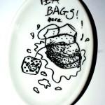 Tea bags - czyli podstawki na torebki herbaciane