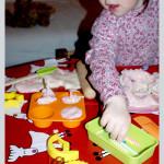 Bawimy się kreatywnie 2 masa solna+akcesoria kuchenne dla dzieci