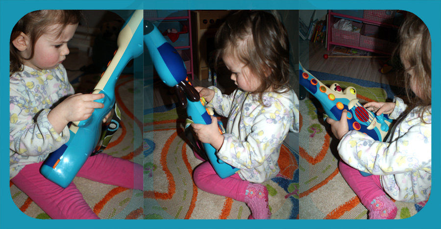 B.toys piesek gitara